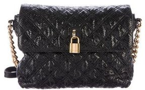 Marc Jacobs Quilted Leather Shoulder Bag - BLACK - STYLE