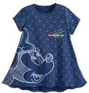 Disney Minnie Mouse Fashion T-Shirt for Girls - Disneyland 2018 - Blue