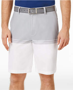 Greg Norman for Tasso Elba Men's Colorblocked Stretch Shorts, Created for Macy's