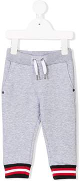 Givenchy Kids contrast stripe joggers