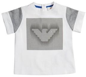 Armani Junior Infant Boy's Logo Graphic T-Shirt