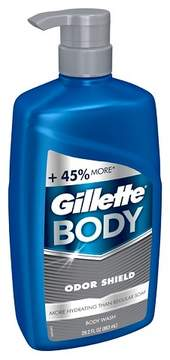 Gillette Odor Shield Body Wash Pump - 29.2 oz
