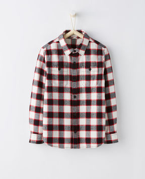 Hanna Andersson Wintry Plaid Flannel Shirt