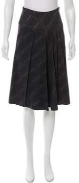 Odeeh Printed Knee-Length Skirt