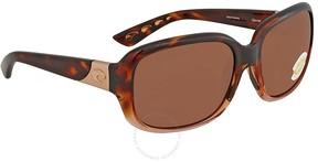Costa del Mar Gannet Brown Polarized Sunglasses GNT 120 OCP