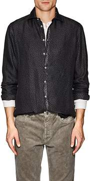 Massimo Alba Men's Paisley Silk Twill Shirt