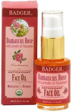 Organic Damascus Rose Antioxidant Face Oil by Badger (1oz Oil)