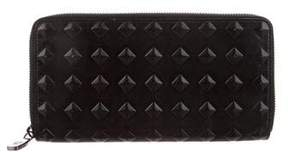 MCM Leather Zip Wallet