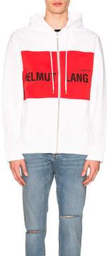 Helmut Lang x Shayne Oliver Campaign PR Panel Zip Hoodie