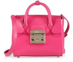 Furla Metropolis Mini Leather Satchel