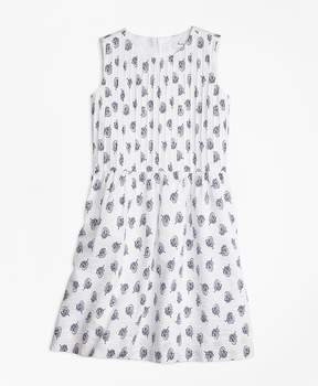 Brooks Brothers Sleeveless Cotton Dress