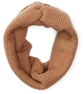 Ralph Lauren Ribbed Cashmere Snood Camel One Size