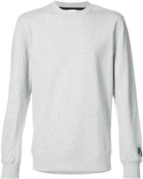 Nike logo sleeve sweatshirt