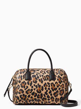 Kate Spade Dunne lane leopard-print mega lane - LEOPARD - STYLE