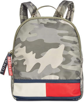 Tommy Hilfiger Nori Camo Nylon Backpack