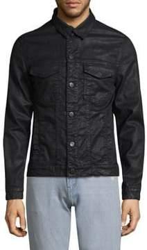 J Brand Gorn Point Collar Denim Jacket