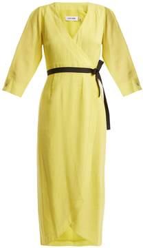 DAY Birger et Mikkelsen CEFINN V-neck voile wrap dress