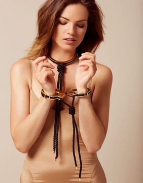 Agent Provocateur Xena Double Cuff Gold