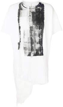 Barbara I Gongini distressed T-shirt