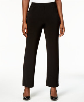 Alfred Dunner Deck the Halls Pull-On Straight-Leg Pants