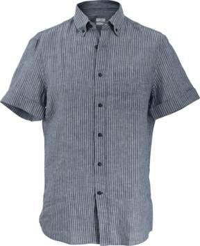 Brunello Cucinelli Leisure Striped Shirt