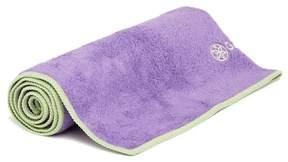 Gaiam Yoga Hand Towel - Grape/Celery