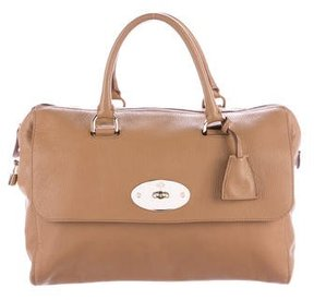 Mulberry Del Rey Pebbled Leather Handle Bag
