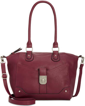 Style & Co Twistlock Satchel, Created for Macy's