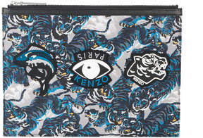 Kenzo Flying A4 tiger pouch