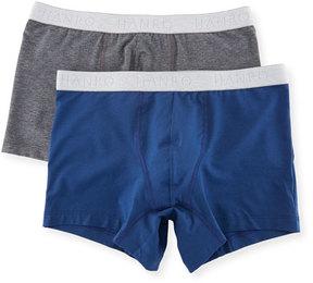 Hanro Two-Pack Cotton Essentials Boxer Briefs