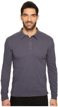 Mod-o-doc Salt Point Long Sleeve Slub Jersey Polo Men's Long Sleeve Pullover