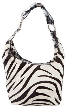 Dolce & Gabbana Ponyhair Shoulder Bag - ANIMAL PRINT - STYLE