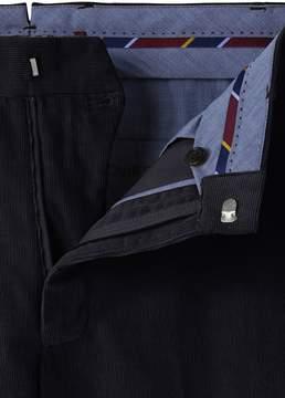 Lands' End Lands'end Men's Tailored Fit Plain Front 18-wale Corduroy Trousers