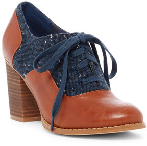 Restricted Tamiko Two Tone Oxford Pump