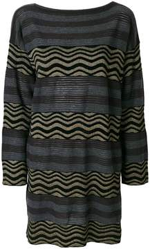Antonio Marras striped jumper dress