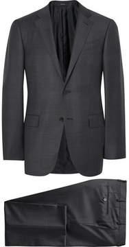 Ermenegildo Zegna Grey Trofeo Slim-Fit Wool Suit