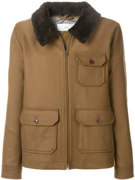 Closed three pocket jacket