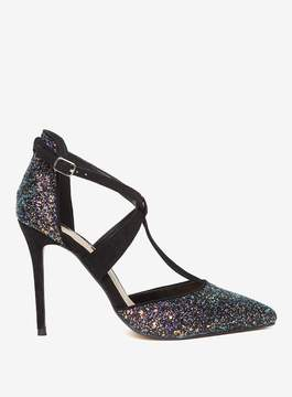 Dorothy Perkins Multi Coloured Glitter 'Gloria' Court Shoes