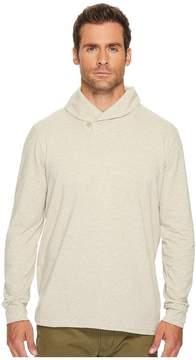 Lucky Brand Saturday Stretch Popover Shawl Men's Sweater