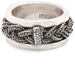 Emanuele Bicocchi Sterling-silver braided ring