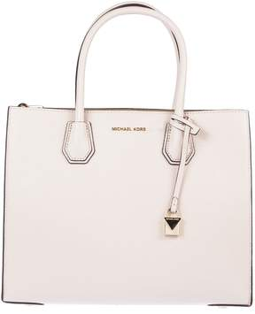 Michael Kors Mercer Large Grained Tote Bag - SOFT PINK - STYLE