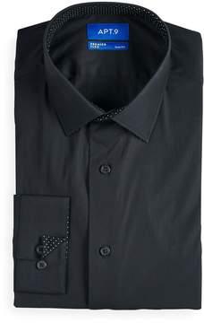 Apt. 9 Men's Slim-Fit Hybrid Stretch Dress Shirt