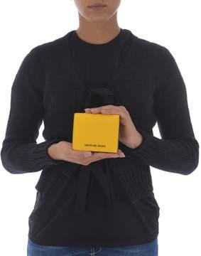 Michael Kors Logo Wallet - GIALLO - STYLE