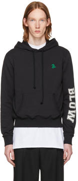 Raf Simons Black Blow Slim Fit Hoodie