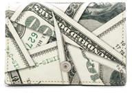 Maison Margiela Coin Purse in Dollar Print