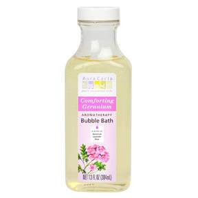 Aura Cacia Comforting Geranium Bubble Bath by 13oz Bubble Bath)
