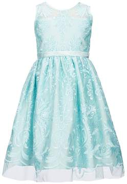 Jayne Copeland Little Girls 2T-6X Embroidered Fit-And-Flare Dress