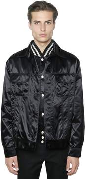Calvin Klein Collection Techno Satin Shirt Jacket
