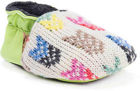 Muk Luks Girls Baby Soft Infant Crib Shoe