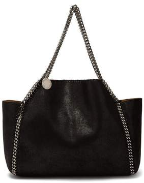 Stella McCartney Falabella Mini Reversible Tote Bag - Womens - Black